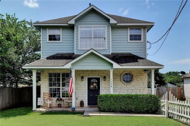 1408 E 19th St, Georgetown, TX 78626 (#9649373) :: The Gregory Group