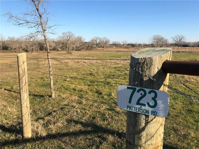 723 Patterson Rd, Flatonia, TX 78941 (#9658338) :: The Perry Henderson Group at Berkshire Hathaway Texas Realty