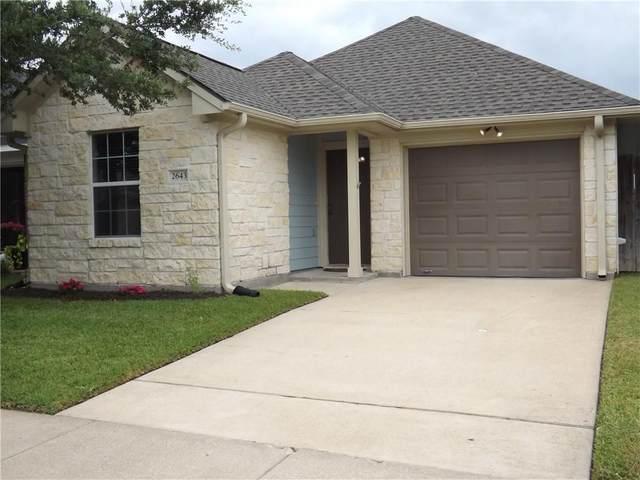 2643 Symphony Park Dr, Bryan, TX 77803 (MLS #9666005) :: Vista Real Estate