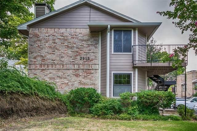 2913 Pearl St #201, Austin, TX 78705 (#9725728) :: Von Austin Properties