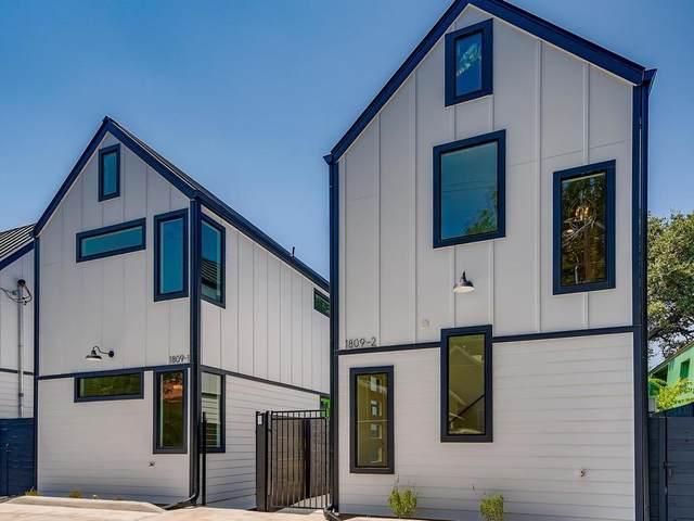 1809 Newton St #2, Austin, TX 78704 (MLS #9744527) :: Brautigan Realty