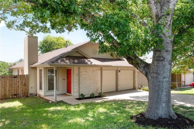 931 Peggotty Pl, Austin, TX 78753 (#9755552) :: The Perry Henderson Group at Berkshire Hathaway Texas Realty