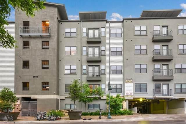 2502 Leon St #418, Austin, TX 78705 (MLS #9787339) :: Brautigan Realty