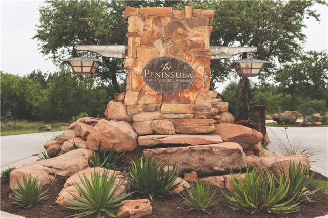 18 Peninsula Dr, Burnet, TX 78611 (#9841800) :: The Perry Henderson Group at Berkshire Hathaway Texas Realty