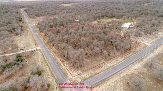 0 (lot 60) Powder Ridge/Musket Trl, Luling, TX 78648 (#9845378) :: The Perry Henderson Group at Berkshire Hathaway Texas Realty