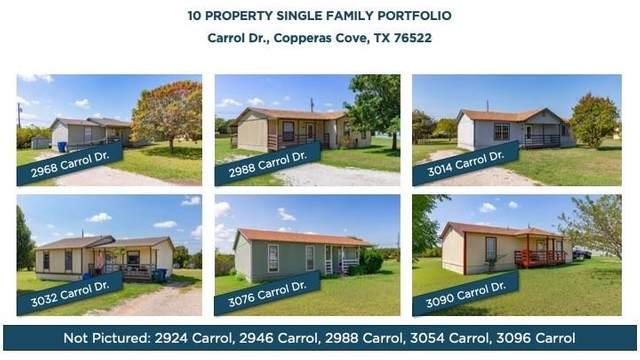 3054 Carrol Dr, Copperas Cove, TX 76522 (#9890324) :: Papasan Real Estate Team @ Keller Williams Realty