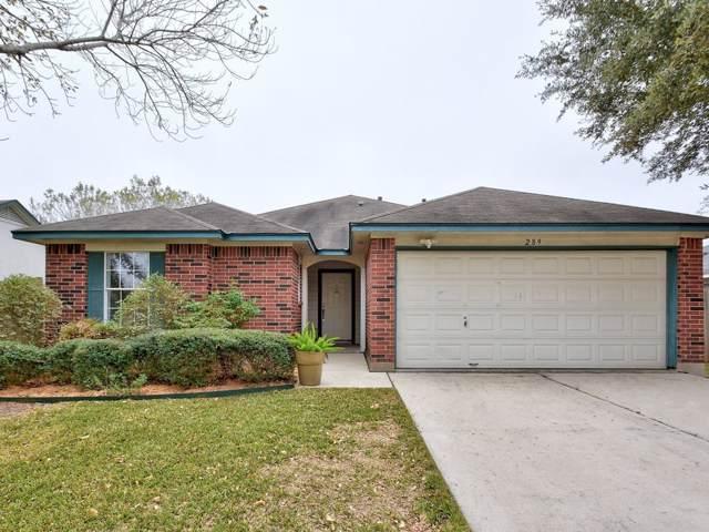 289 Keystone Loop, Kyle, TX 78640 (#9913597) :: Zina & Co. Real Estate