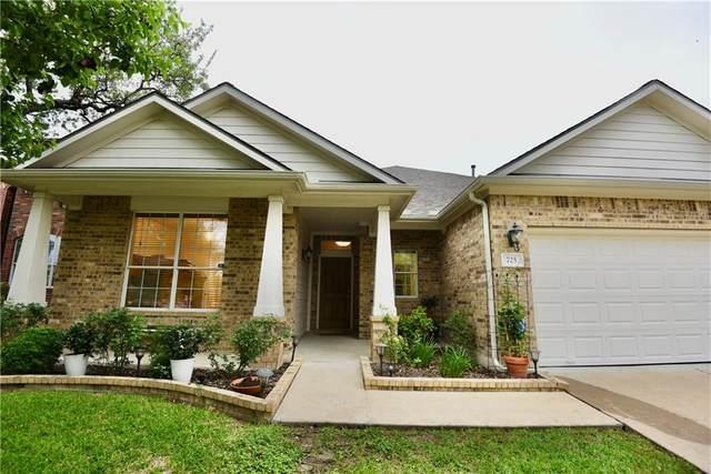 725 Adler Falls Ln, Round Rock, TX 78665 (#9937701) :: Papasan Real Estate Team @ Keller Williams Realty