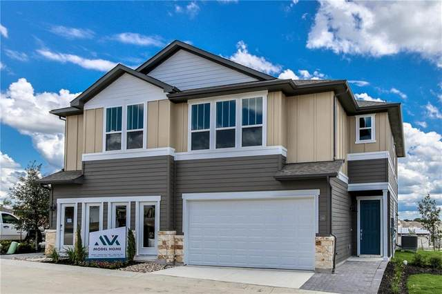 1015 Vista View Dr #201, Georgetown, TX 78626 (#9946031) :: Ben Kinney Real Estate Team