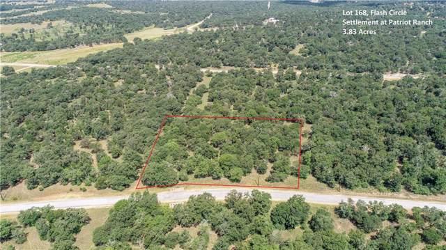 0 (lot 168) Flash Cir, Luling, TX 78648 (MLS #9950885) :: Vista Real Estate