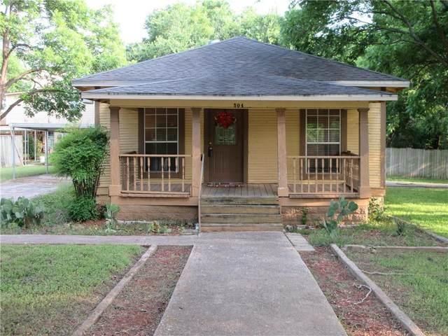 504 E 6th St, Georgetown, TX 78626 (#9951238) :: Papasan Real Estate Team @ Keller Williams Realty