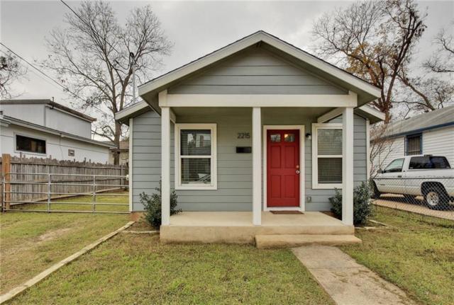 2215 Santa Rita St, Austin, TX 78702 (#1033685) :: Watters International