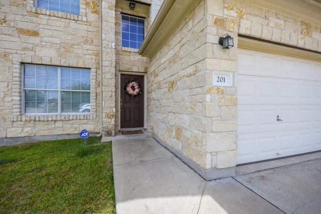 201 Saul St, Hutto, TX 78634 (#1285917) :: RE/MAX Capital City