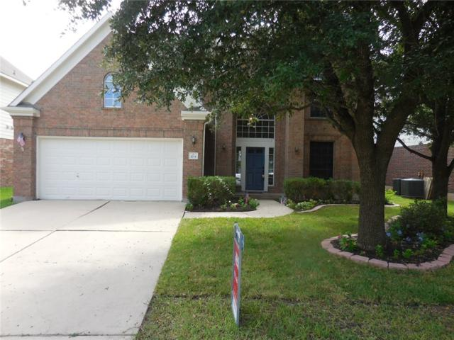 3715 Geese Rte, Round Rock, TX 78665 (#1294302) :: The ZinaSells Group