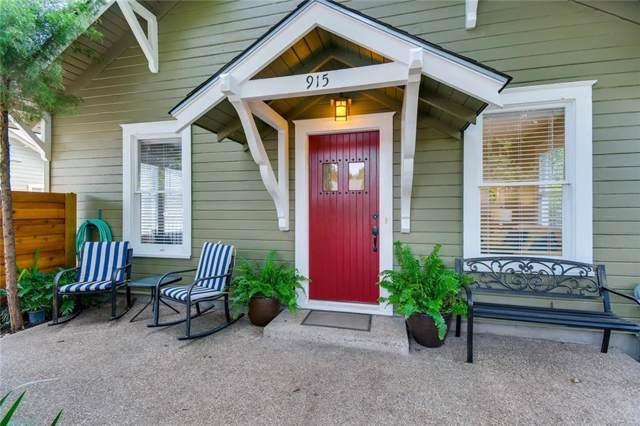 915 E 51st St, Austin, TX 78751 (#1408874) :: Douglas Residential