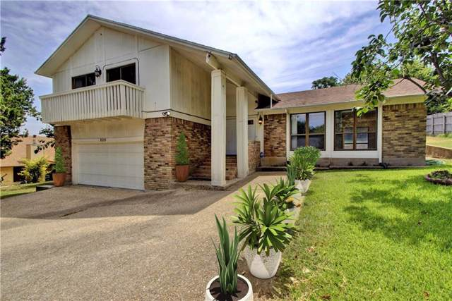 809 Cliffside Dr, Harker Heights, TX 76548 (#1838899) :: Ben Kinney Real Estate Team