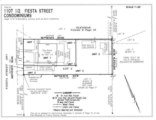 1107 1/2 Fiesta St #1, Austin, TX 78702 (#1857757) :: The Heyl Group at Keller Williams