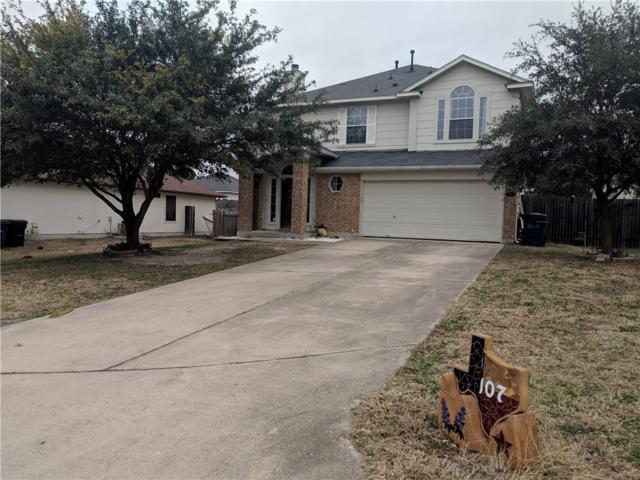 107 Cattail Cv, Hutto, TX 78634 (#1867112) :: Amanda Ponce Real Estate Team