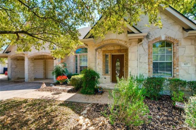 327 Champions Dr, Georgetown, TX 78628 (#1903602) :: Papasan Real Estate Team @ Keller Williams Realty