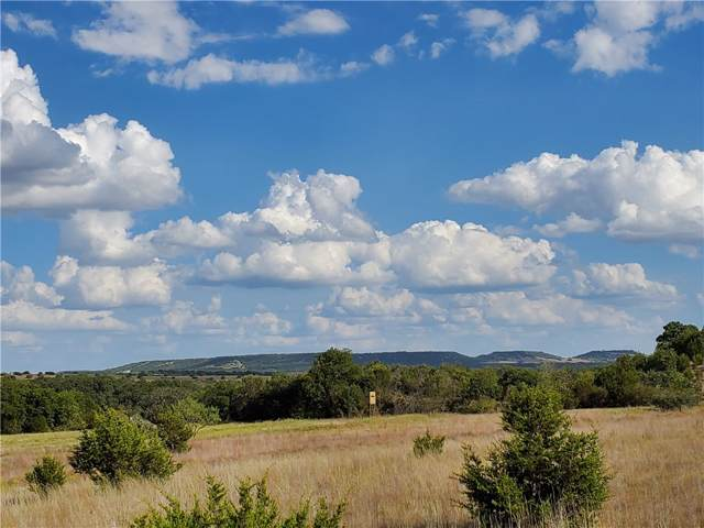 Lot 66 Hilltop Springs Ranch Rd, Lampasas, TX 76550 (#1997505) :: The Heyl Group at Keller Williams