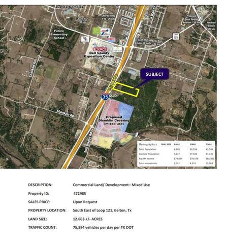 00 S IH-35 Service Road Rd, Belton, TX 76513 (#2151445) :: Realty Executives - Town & Country