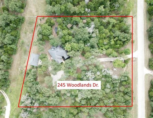 245 Woodlands Dr, Bastrop, TX 78602 (#2259055) :: The Heyl Group at Keller Williams