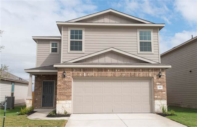 201 Ibis Falls Loop, Jarrell, TX 76537 (#3018085) :: The Perry Henderson Group at Berkshire Hathaway Texas Realty