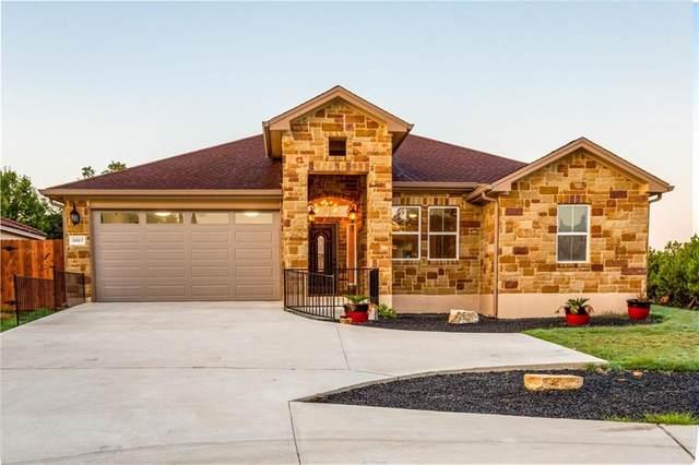 3607 Roosevelt Cv, Lago Vista, TX 78645 (#3068435) :: First Texas Brokerage Company