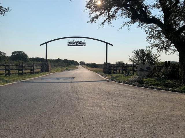 Lot 35 Summit Springs Dr, Marble Falls, TX 78654 (#3295779) :: Lancashire Group at Keller Williams Realty