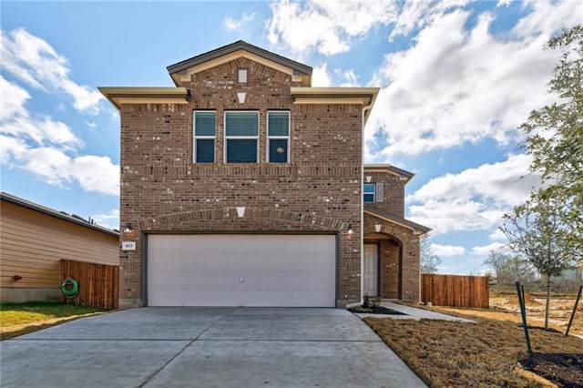 433 Conchillos Dr, Georgetown, TX 78626 (#3562993) :: Ben Kinney Real Estate Team