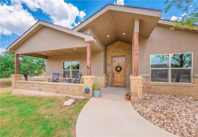 105 Honey Rock Blvd, Burnet, TX 78611 (#3669518) :: Ana Luxury Homes