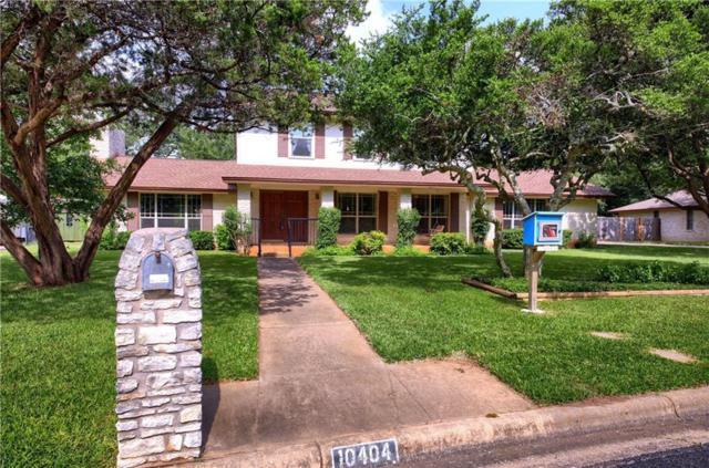 10404 Talleyran Dr, Austin, TX 78750 (#4029197) :: The Gregory Group