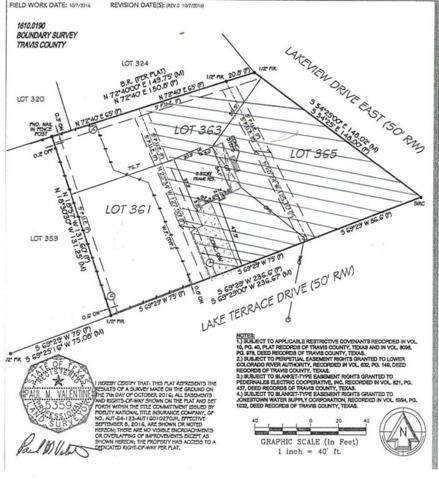 18304 E Lake Terrace Dr, Jonestown, TX 78645 (#4216855) :: The ZinaSells Group
