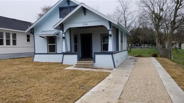 316 Ferguson St, Taylor, TX 76574 (#4479329) :: 12 Points Group