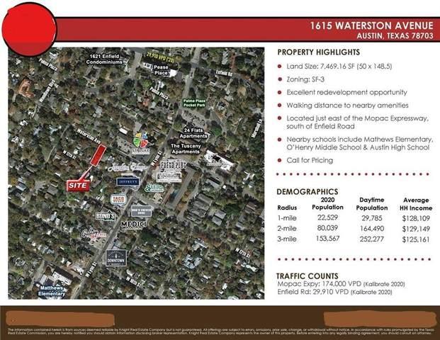 1615 Waterston Ave, Austin, TX 78703 (#4705080) :: R3 Marketing Group