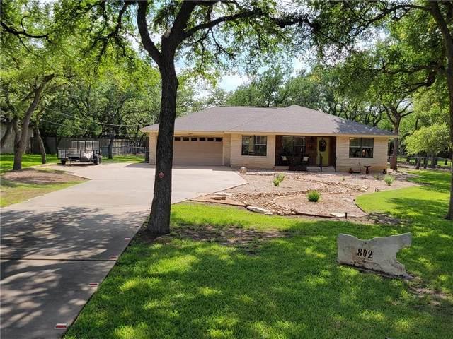 802 W Esparada Dr, Georgetown, TX 78628 (#4733848) :: Papasan Real Estate Team @ Keller Williams Realty