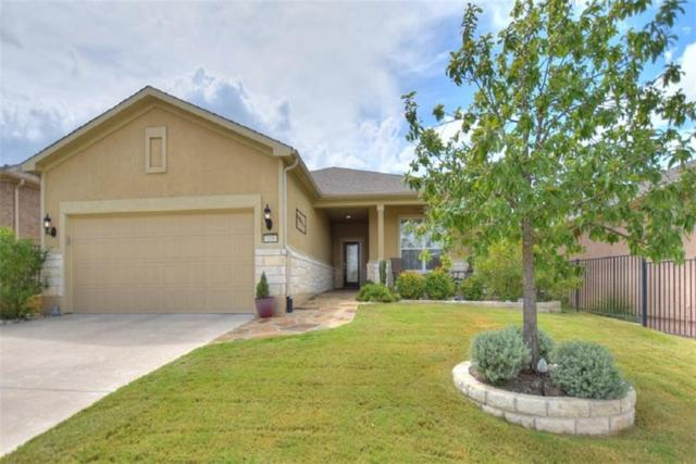 110 Bartlett Peak Dr, Georgetown, TX 78633 (#4856738) :: The Gregory Group