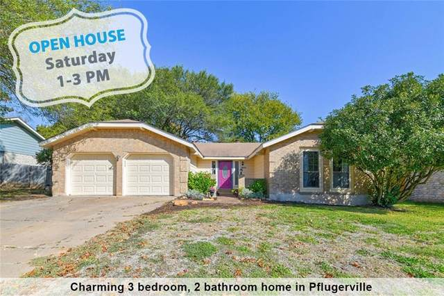 1608 Dove Haven Dr, Pflugerville, TX 78660 (#4888540) :: First Texas Brokerage Company