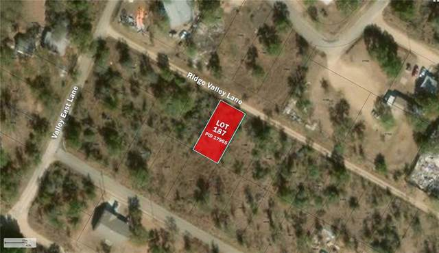 Lot 187 Ridge Valley Ln, Granite Shoals, TX 78654 (#5082559) :: The Perry Henderson Group at Berkshire Hathaway Texas Realty