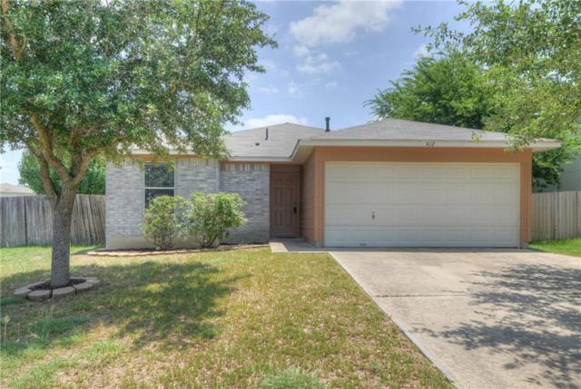 412 Ballentine Ct, Hutto, TX 78634 (#5318445) :: RE/MAX Capital City