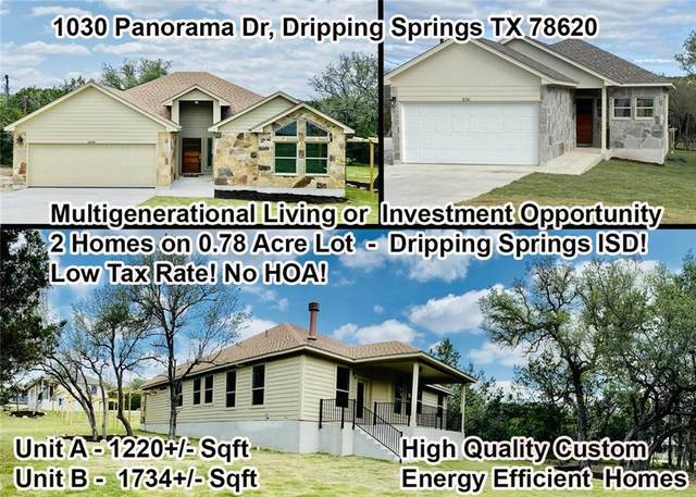 1030 Panarama Dr A & B, Dripping Springs, TX 78620 (#5457770) :: Zina & Co. Real Estate