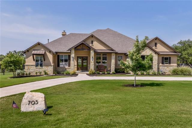 705 Brave Face St, Leander, TX 78641 (#5568533) :: The ZinaSells Group
