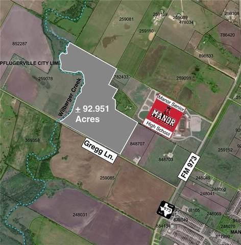 TBD Gregg Ln, Manor, TX 78653 (#5574535) :: Realty Executives - Town & Country