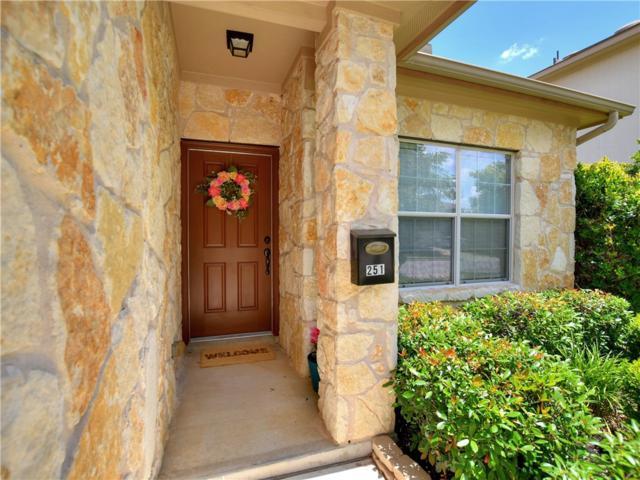 251 Housefinch Loop, Leander, TX 78641 (#5871452) :: RE/MAX Capital City
