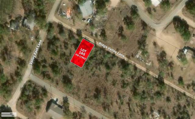 Lot 185 Ridge Valley Ln, Granite Shoals, TX 78654 (#6041726) :: The Perry Henderson Group at Berkshire Hathaway Texas Realty