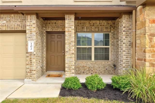 1701 S Bell Blvd #102, Cedar Park, TX 78613 (#6136158) :: Ben Kinney Real Estate Team