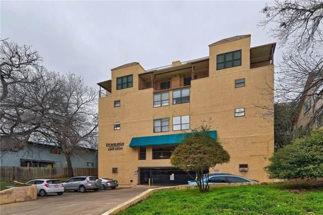 2409 Leon St #102, Austin, TX 78705 (#6286775) :: RE/MAX Capital City