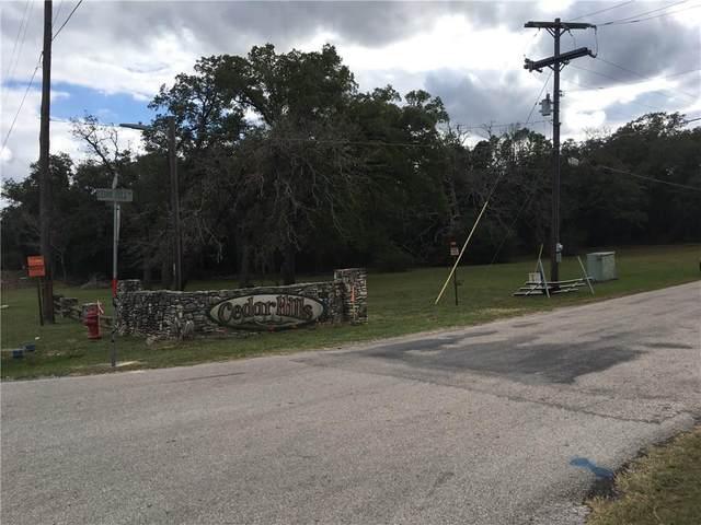 103 Cedar Hills Dr, Elgin, TX 78621 (#6335097) :: Papasan Real Estate Team @ Keller Williams Realty