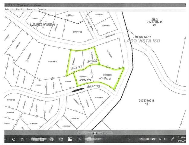 20500 Agarita Dr, Lago Vista, TX 78645 (MLS #6529450) :: Brautigan Realty
