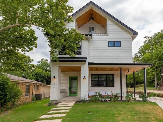 2819 E 22nd St, Austin, TX 78722 (#6645588) :: First Texas Brokerage Company